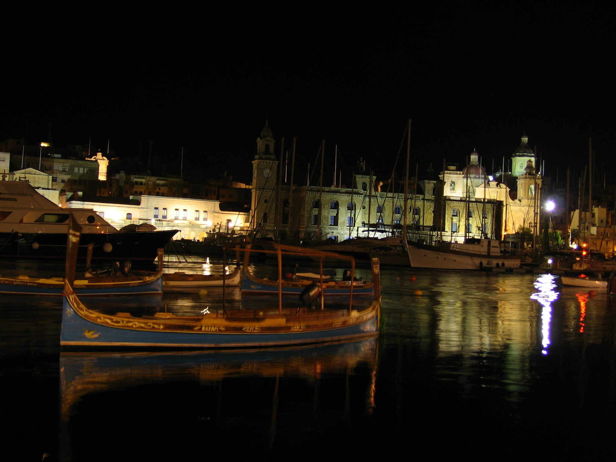 Malta at night